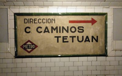 Conocer Madrid: Metro Chamberí-Anden Cero, 11.11.2018