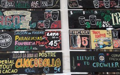 Degustación de cerveza 19.5.2019