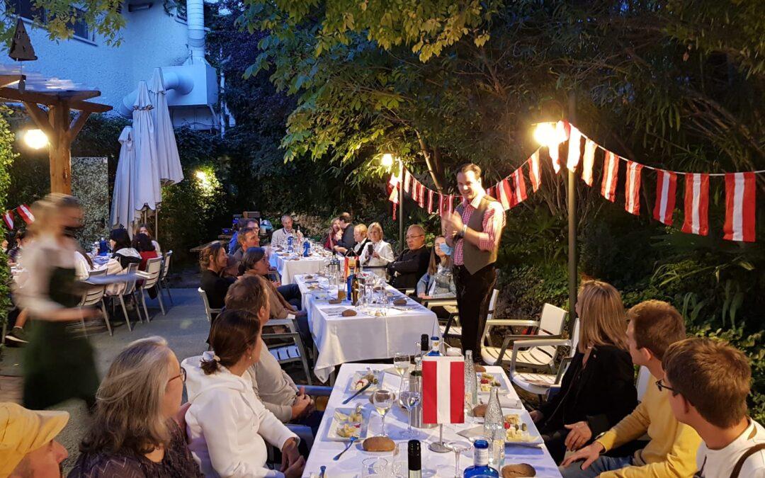 Fiesta del vino – Heuriger,  1.10.2021